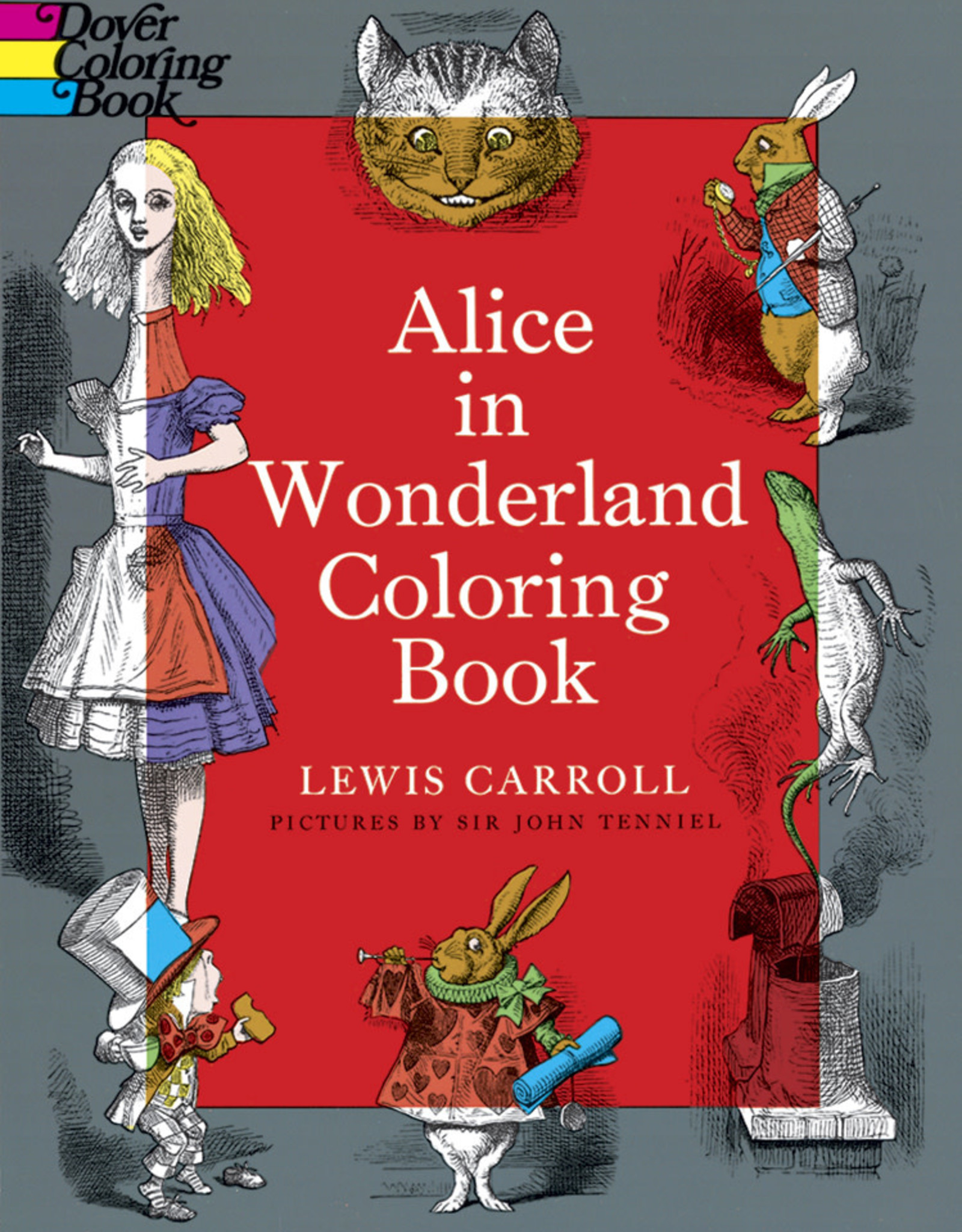 Dover Alice in Wonderland Coloring Book
