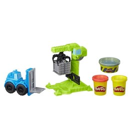 PLAY DOH Play Doh Crane and Forklift