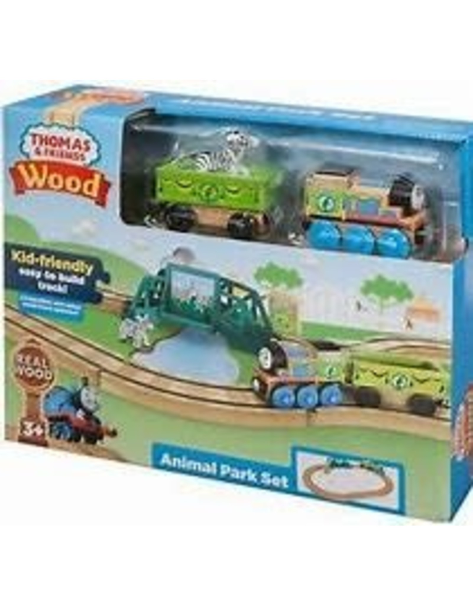 Thomas and Friends FP Thomas Wood Animal Park Set