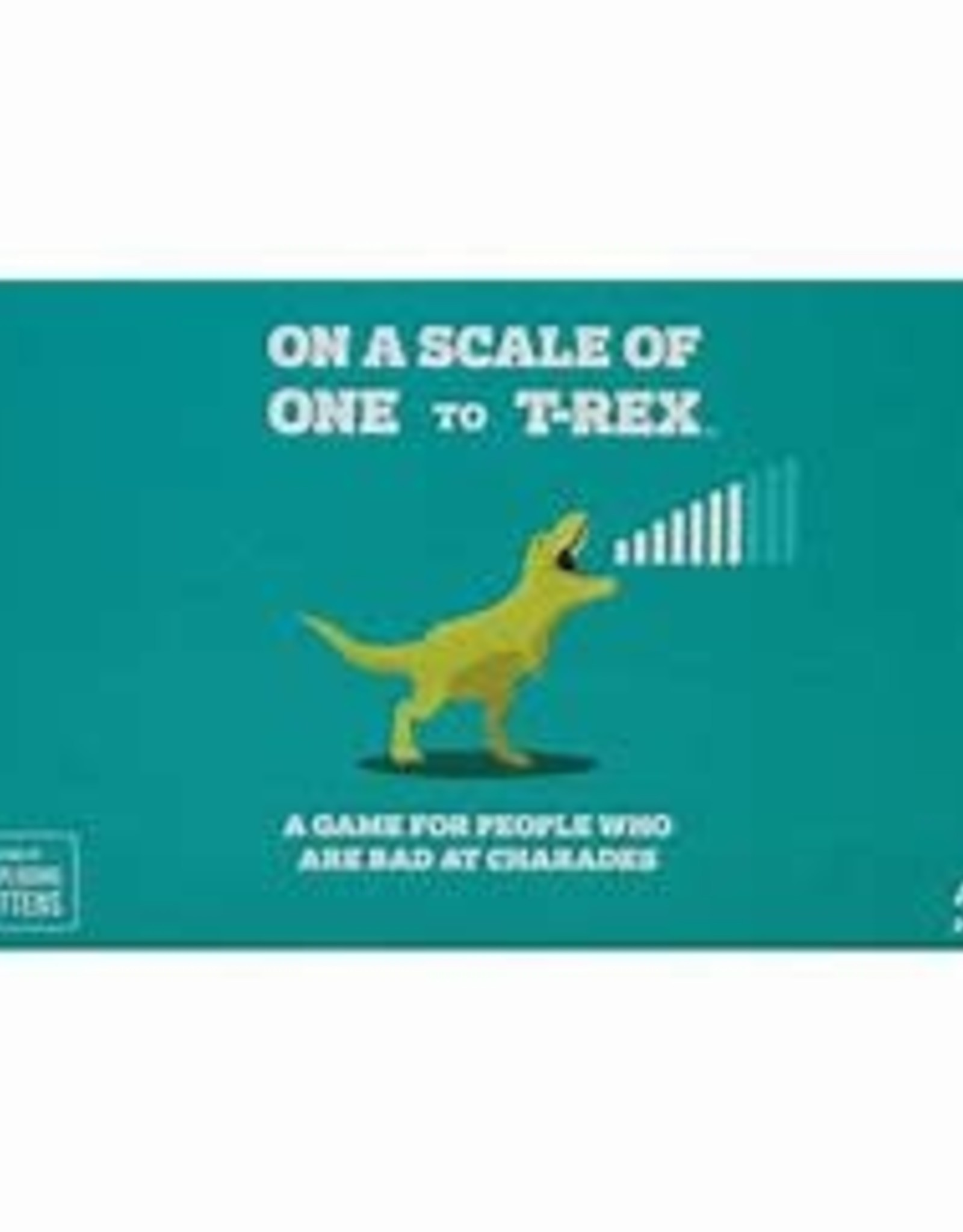 Exploding Kittens On a Scale of One to Trex