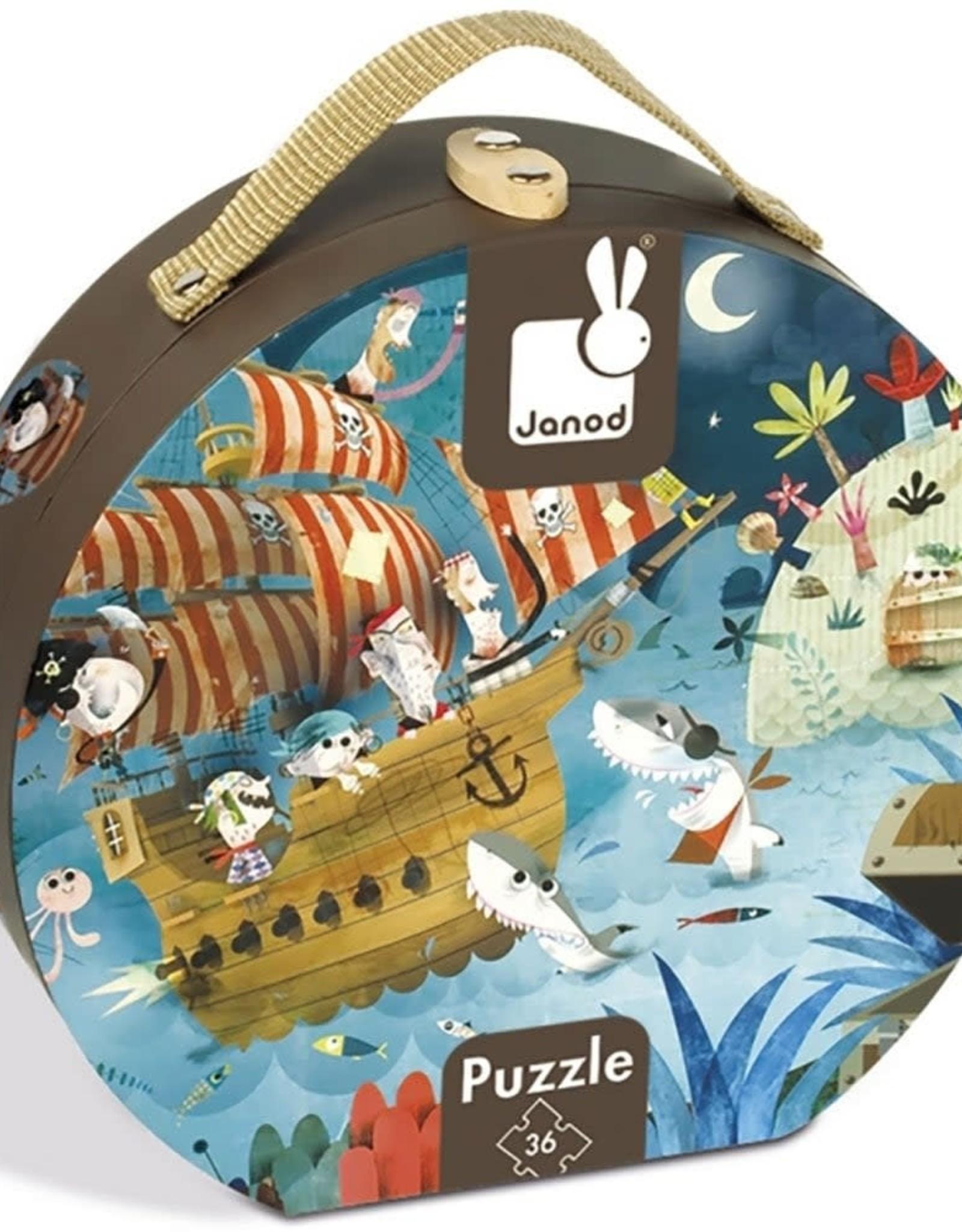 JURA Toys Hat Box Puzzle: Treasure Hunt