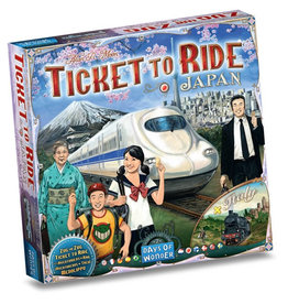 Asmodee Ticket To Ride Japan and Italy