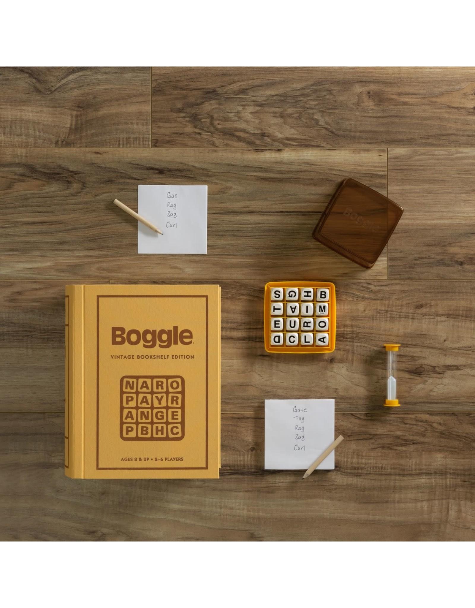 WS Games Boggle Bookshelf Edition