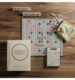 WS Games Scrabble Vintage Bookshelf Edition