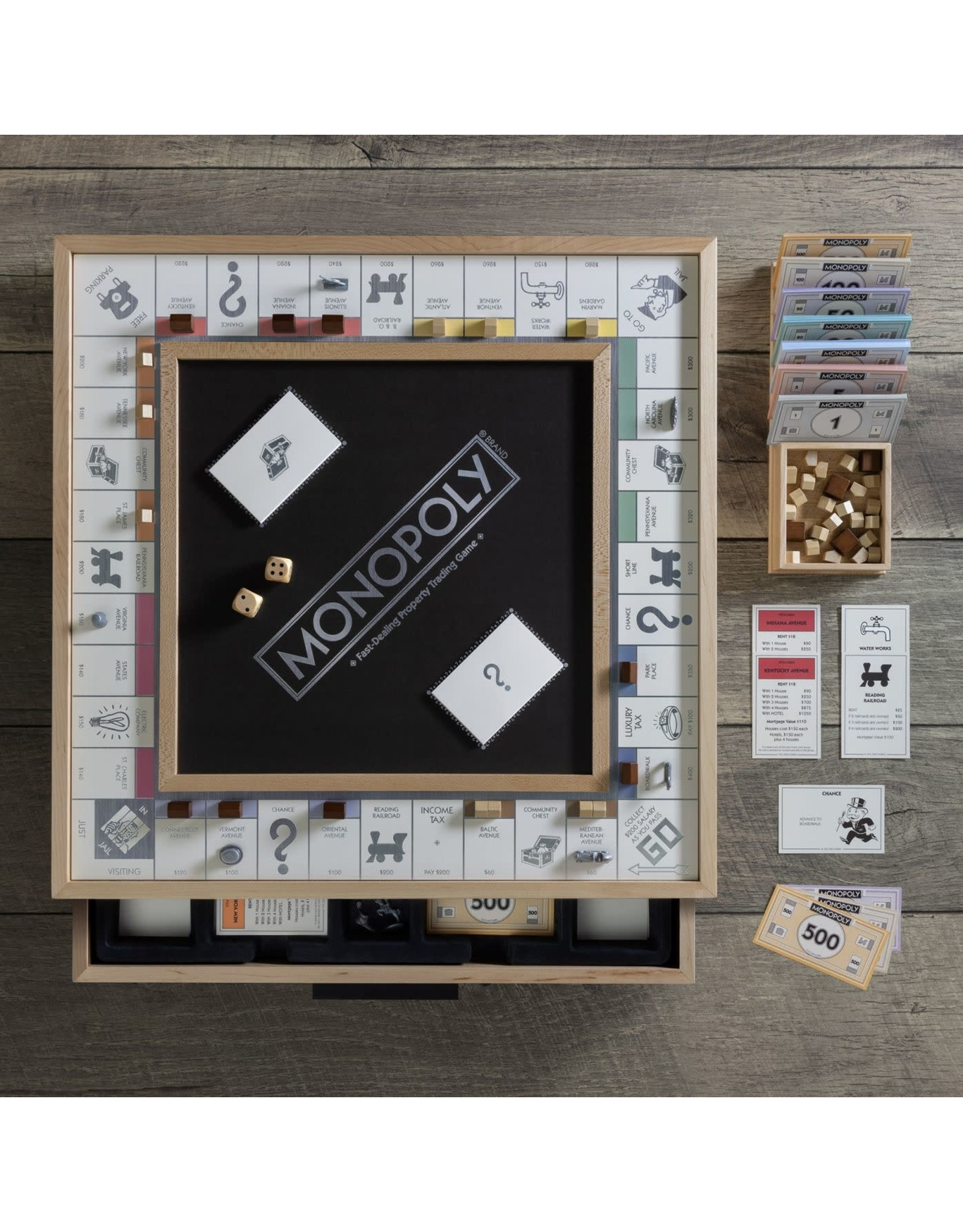 WS Games Monopoly Luxe Maple