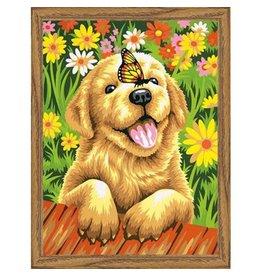 Paint Works Puppy Gardener
