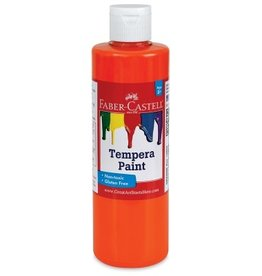 Faber-Castell Orange Tempera Paint (8 oz bottles)