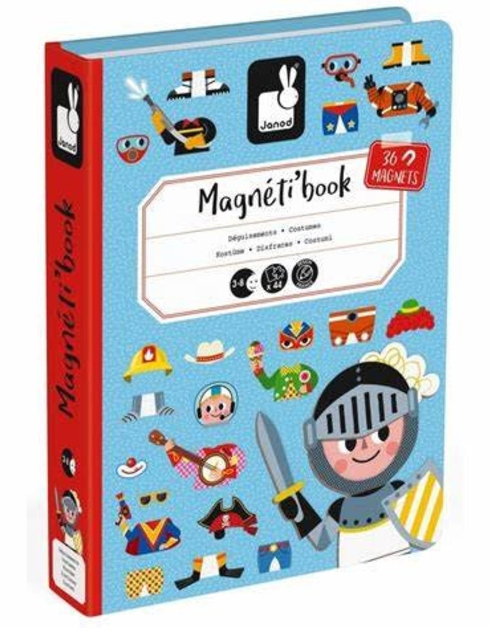 JURA Toys BOY'S COSTUMES MAGNETI'BOOK