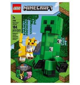 LEGO BigFig Creeper and Ocelot