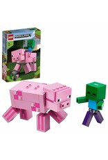 LEGO BigFig Pig with Baby Zombie