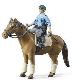Bruder bworld Police with horse