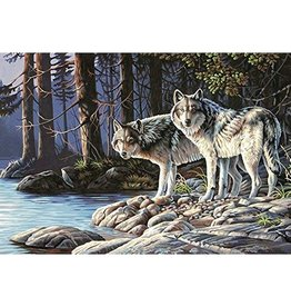 Paint Works Gray Wolves