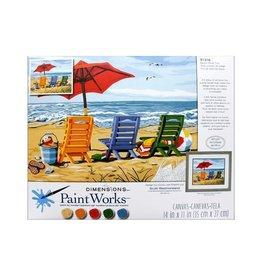 Paint Works Beach Chair Trio