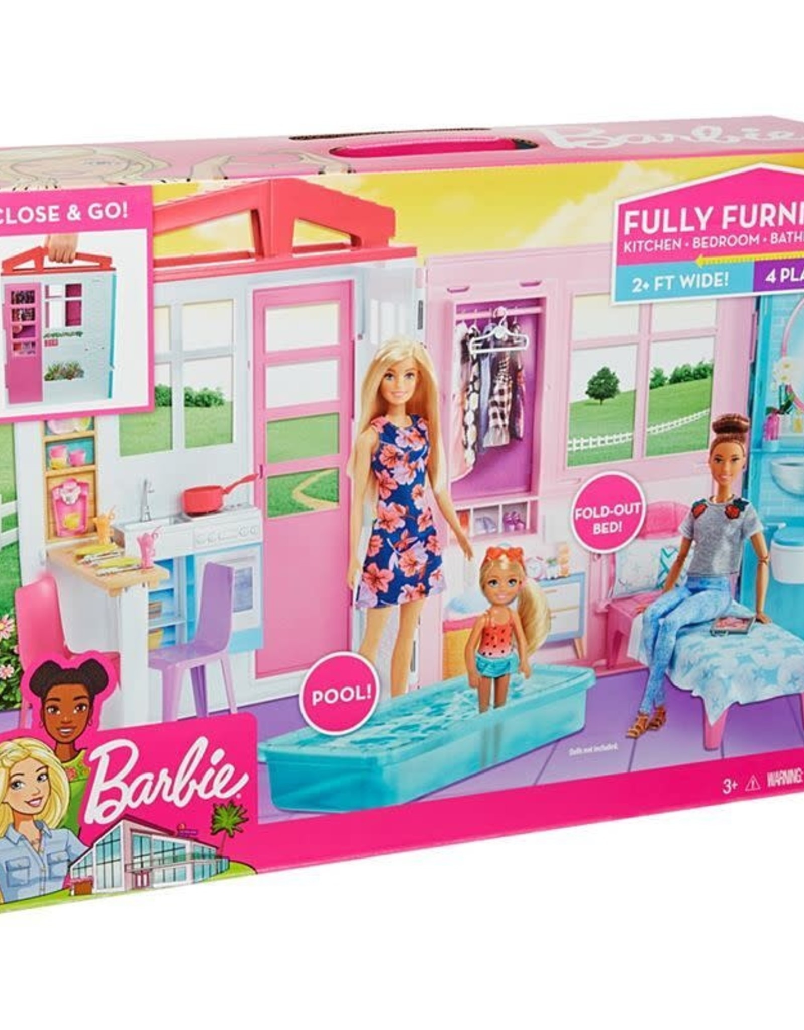 Barbie Barbie Furnished House
