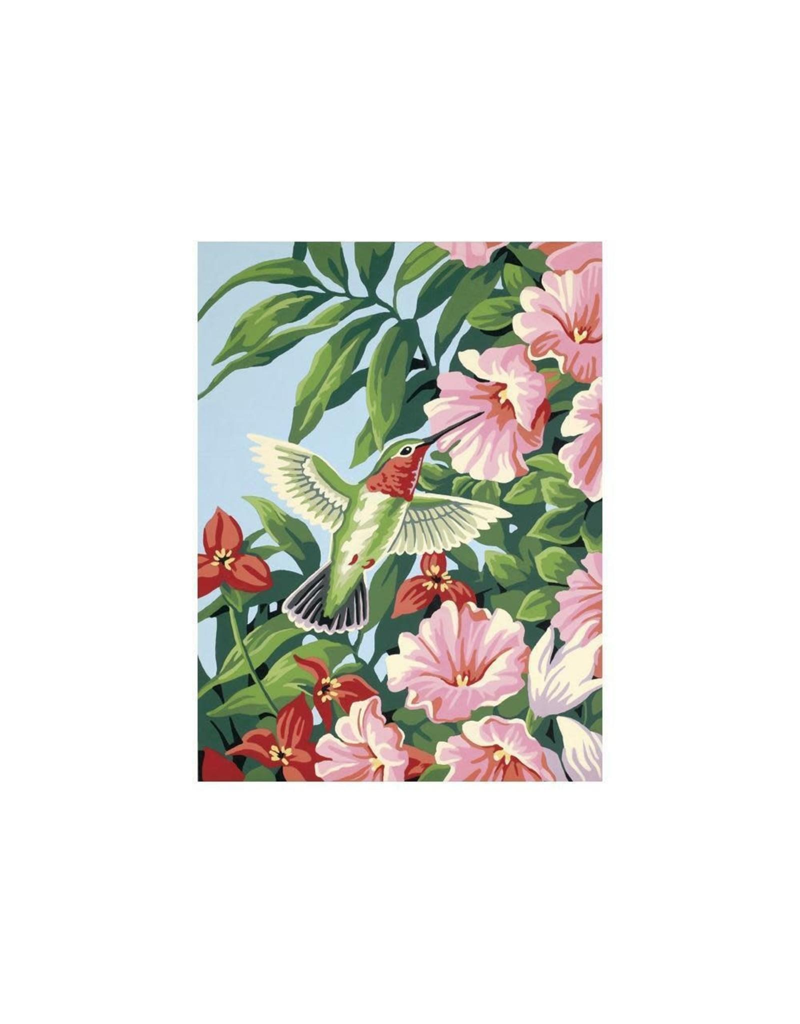 Paint Works Hummingbird & Fuchsias