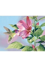 Paint Works Hibiscus Hummingbird