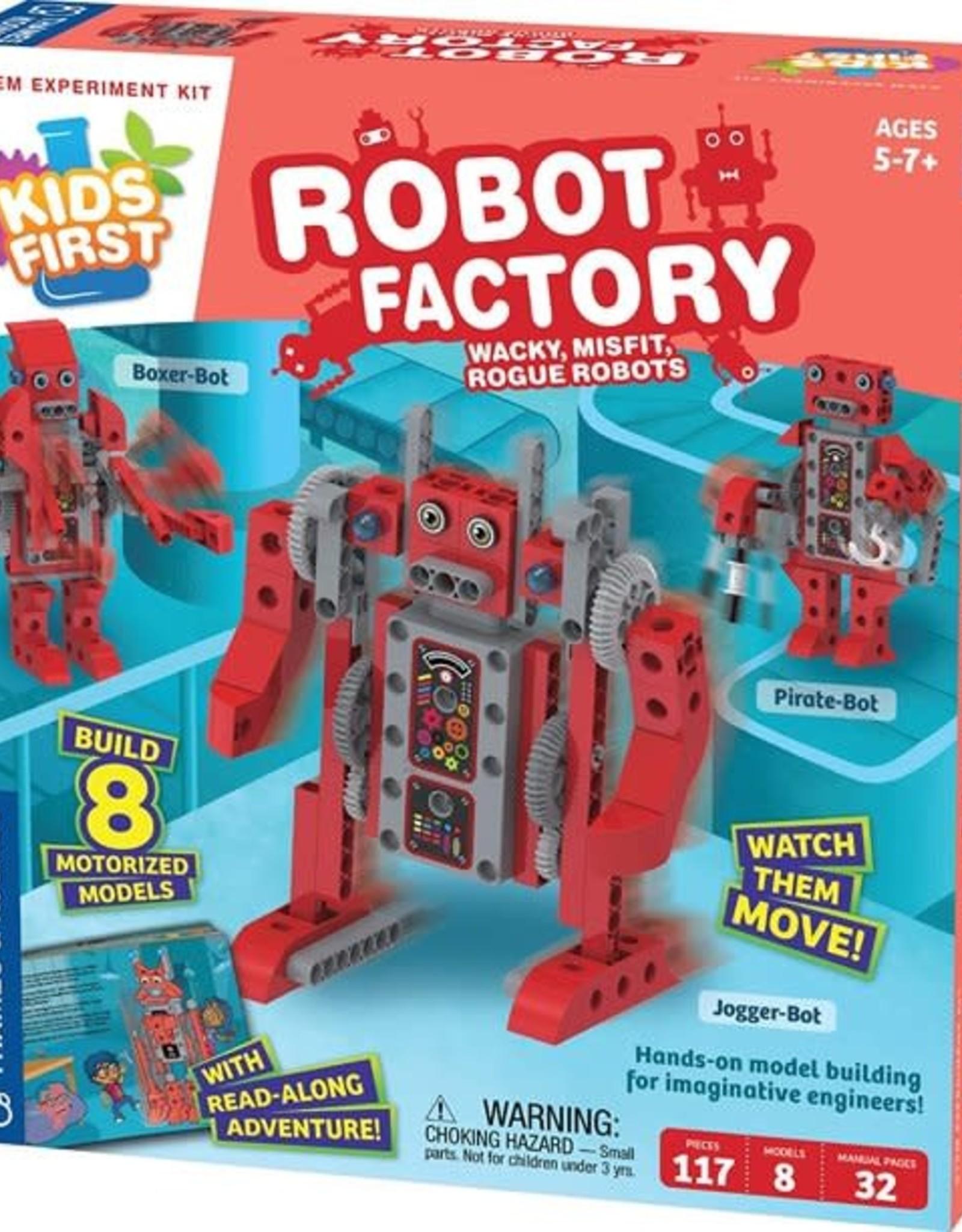 Thames and Kosmos Kids First Robot Factory: Wacky, Misfit, Rogue Robots
