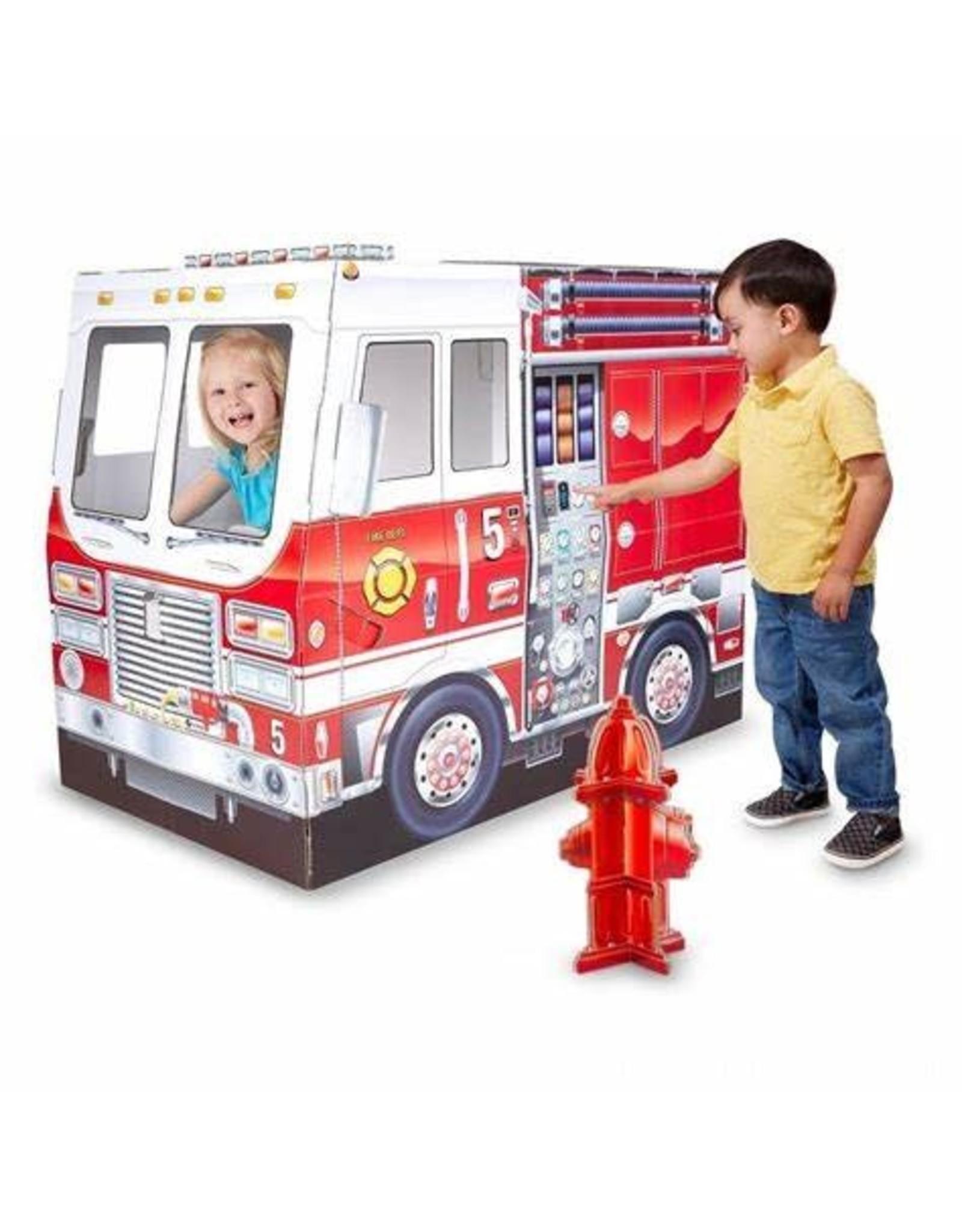 Melissa & Doug Fire Truck Play Tent