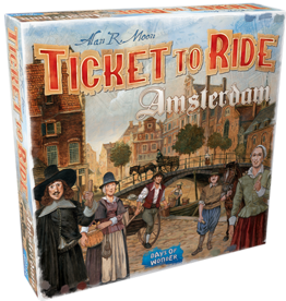 Asmodee Ticket to Ride Amsterdam