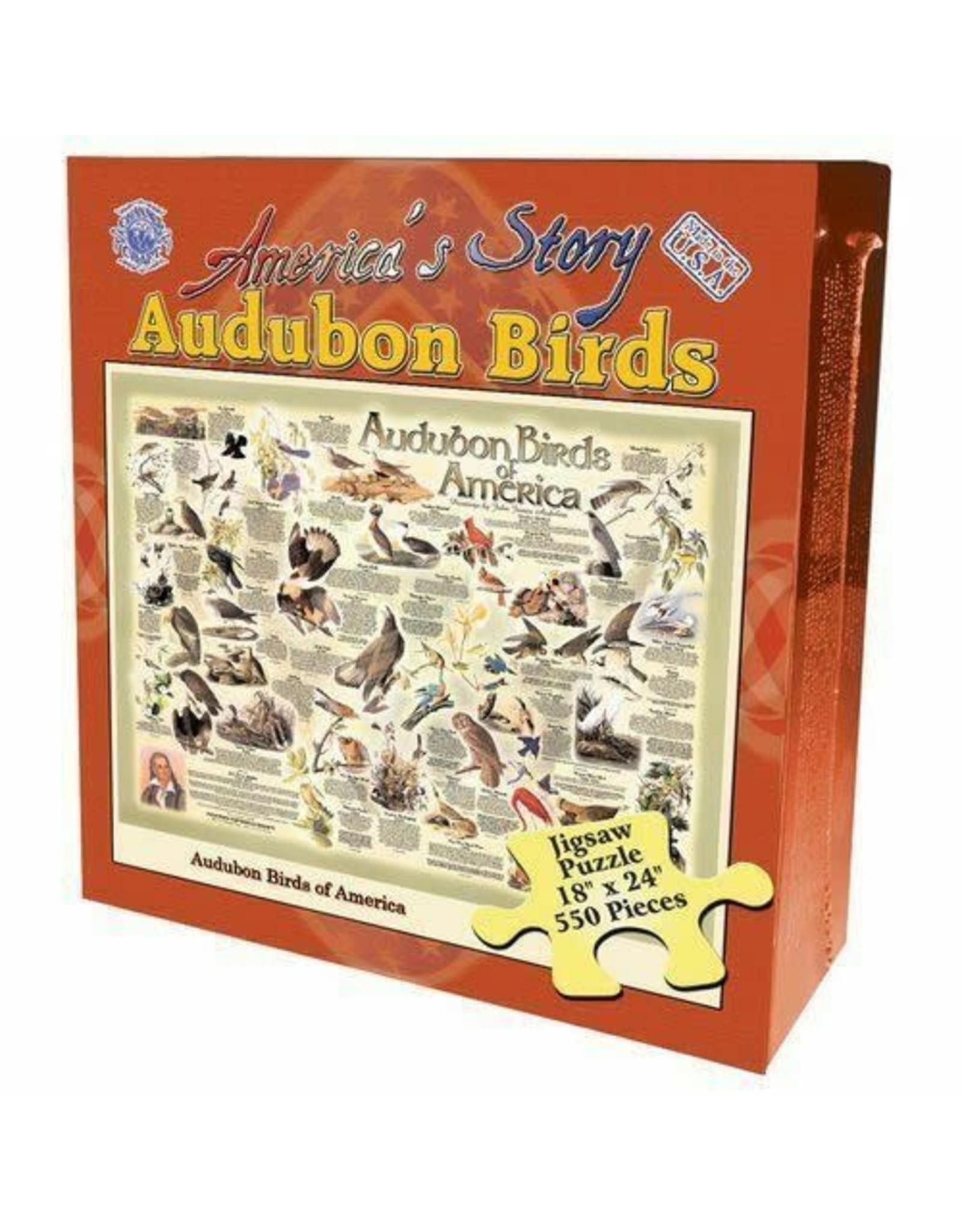 Channel Craft BOXED PUZZLE - AUDUBON BIRDS