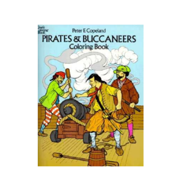 Dover Pirates and Buccaneers Coloring Book