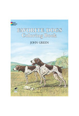 Dover Favorite Dogs Coloring Book