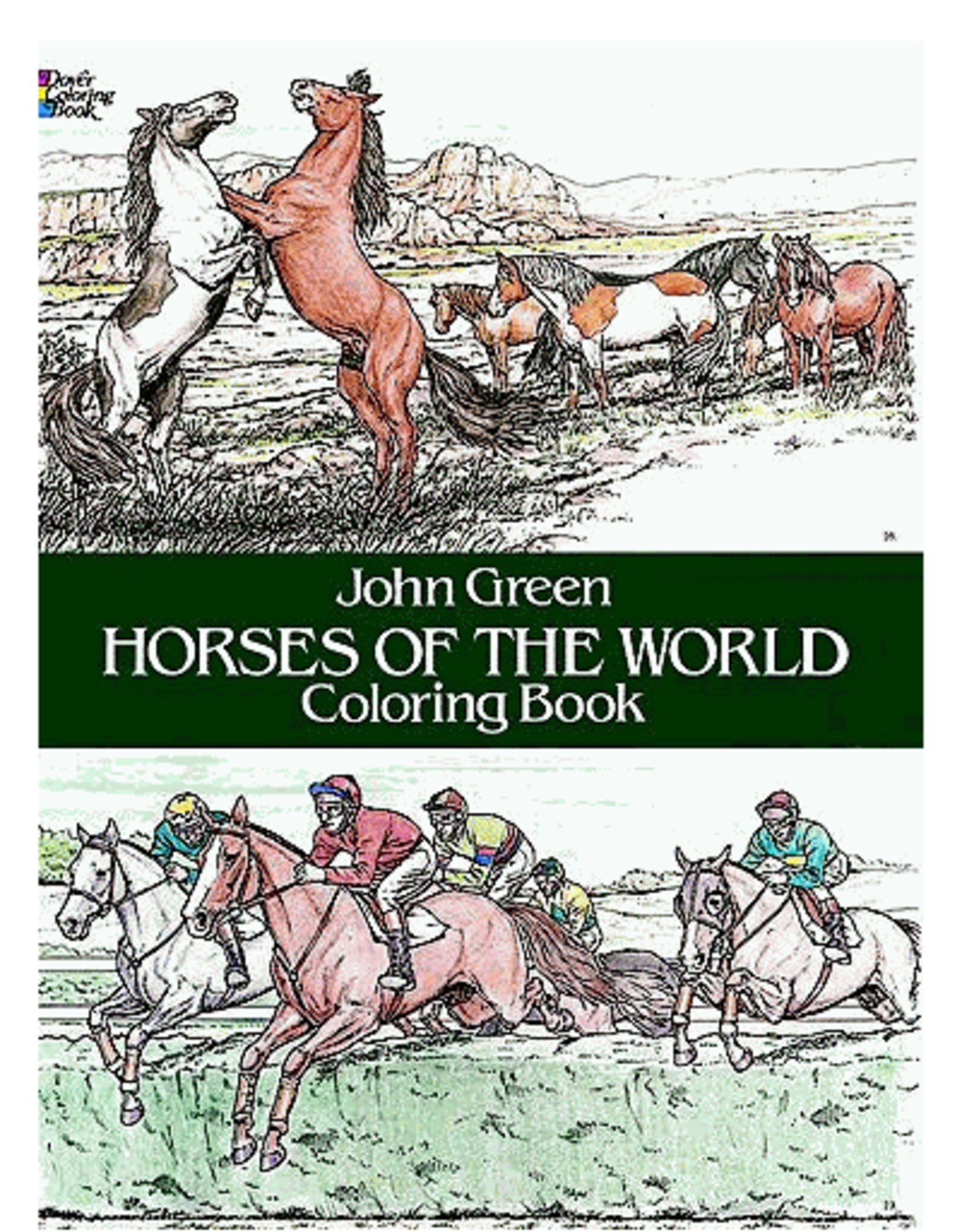 Dover Horses of the World Coloring Book