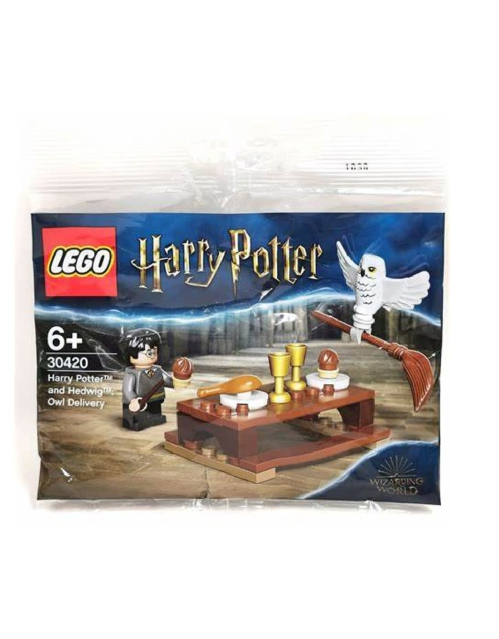 LEGO Harry Potter and Hedwig