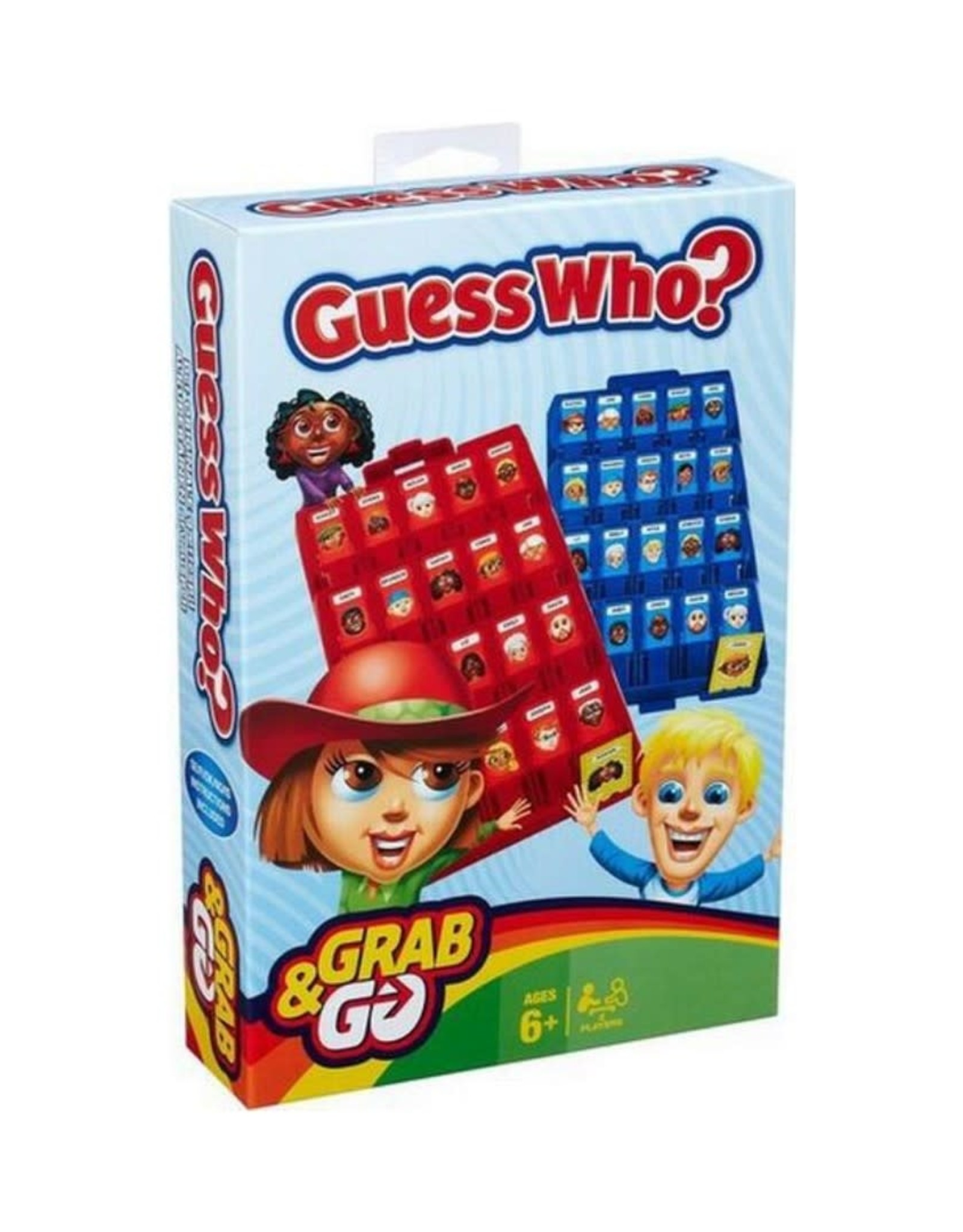 Hasbro Grab N Go Guess Who?