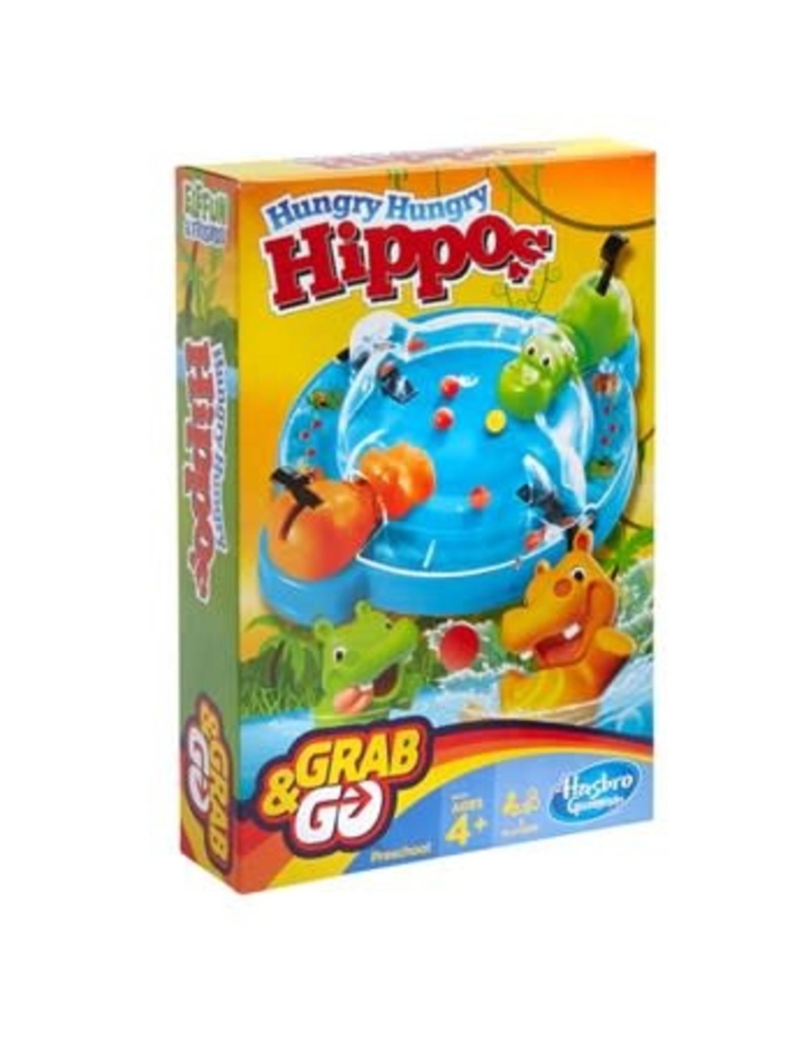 Hasbro Grab N Go Hungry Hungry Hippos