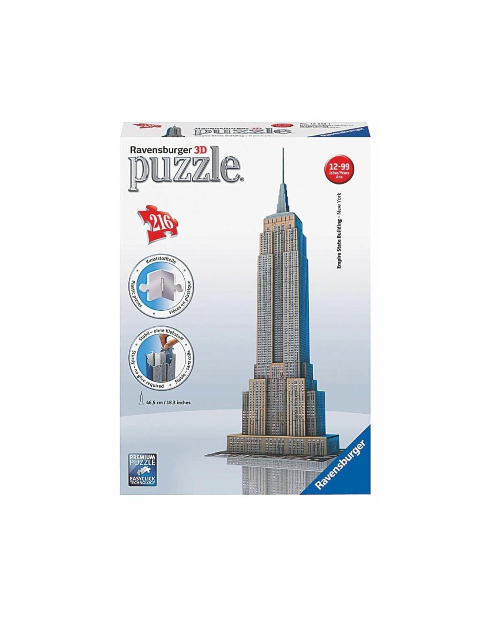 Ravensburger Empire State Building (216 pc 3D Bldg)