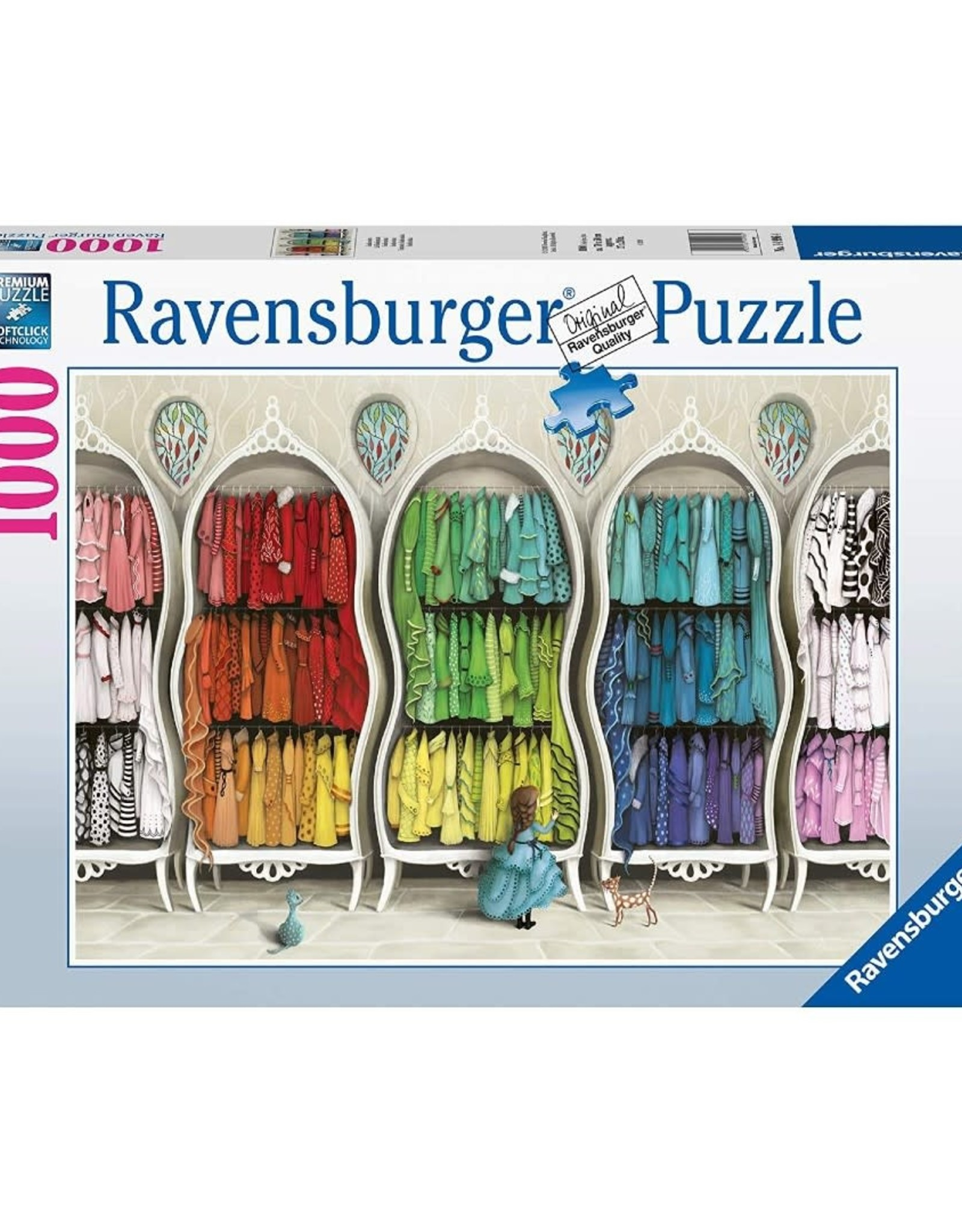 Ravensburger Fantastic Fashionista (1000 pc)