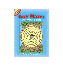 Dover Easy Mazes Activity Book
