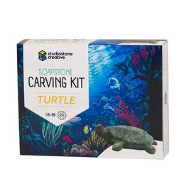 Studiostone Creative Soap stone carving kit - Turtle