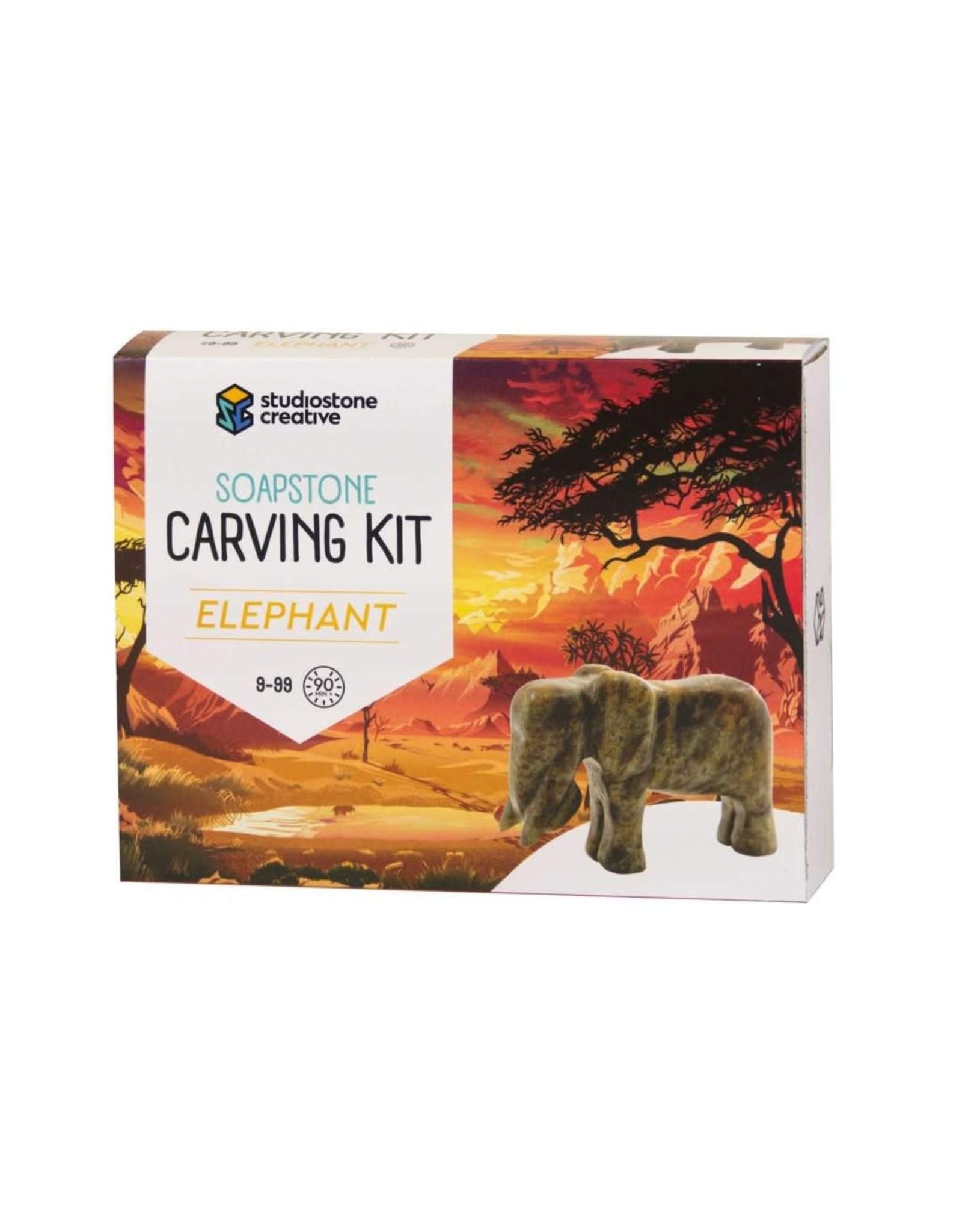 Studiostone Creative Soap stone carving kit - Elephant