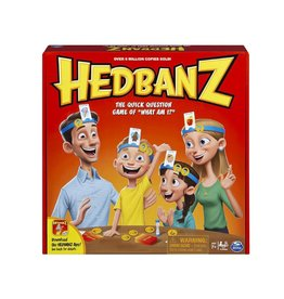 Spinmaster HEDBANZ FAMILY BOARD GAME
