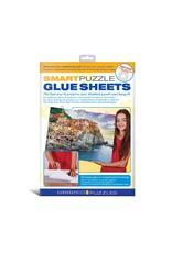 EuroGraphics Individual Puzzle Glue Sheets (pk of 8 sheets)