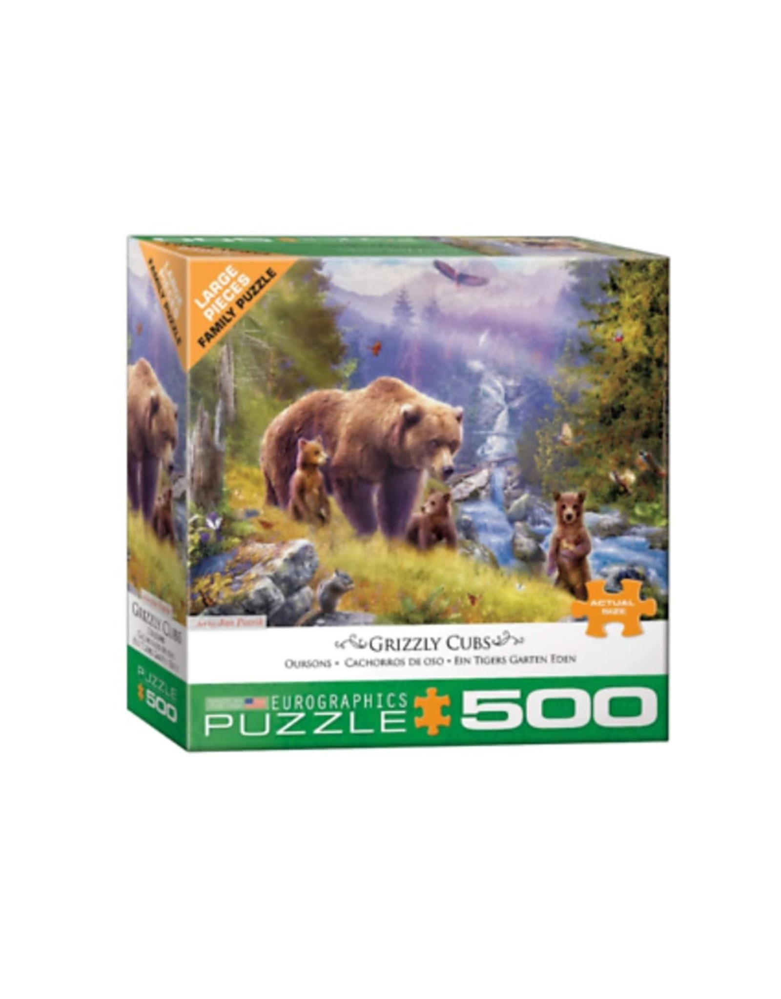 EuroGraphics Grizzly Cubs by Jan Patrik