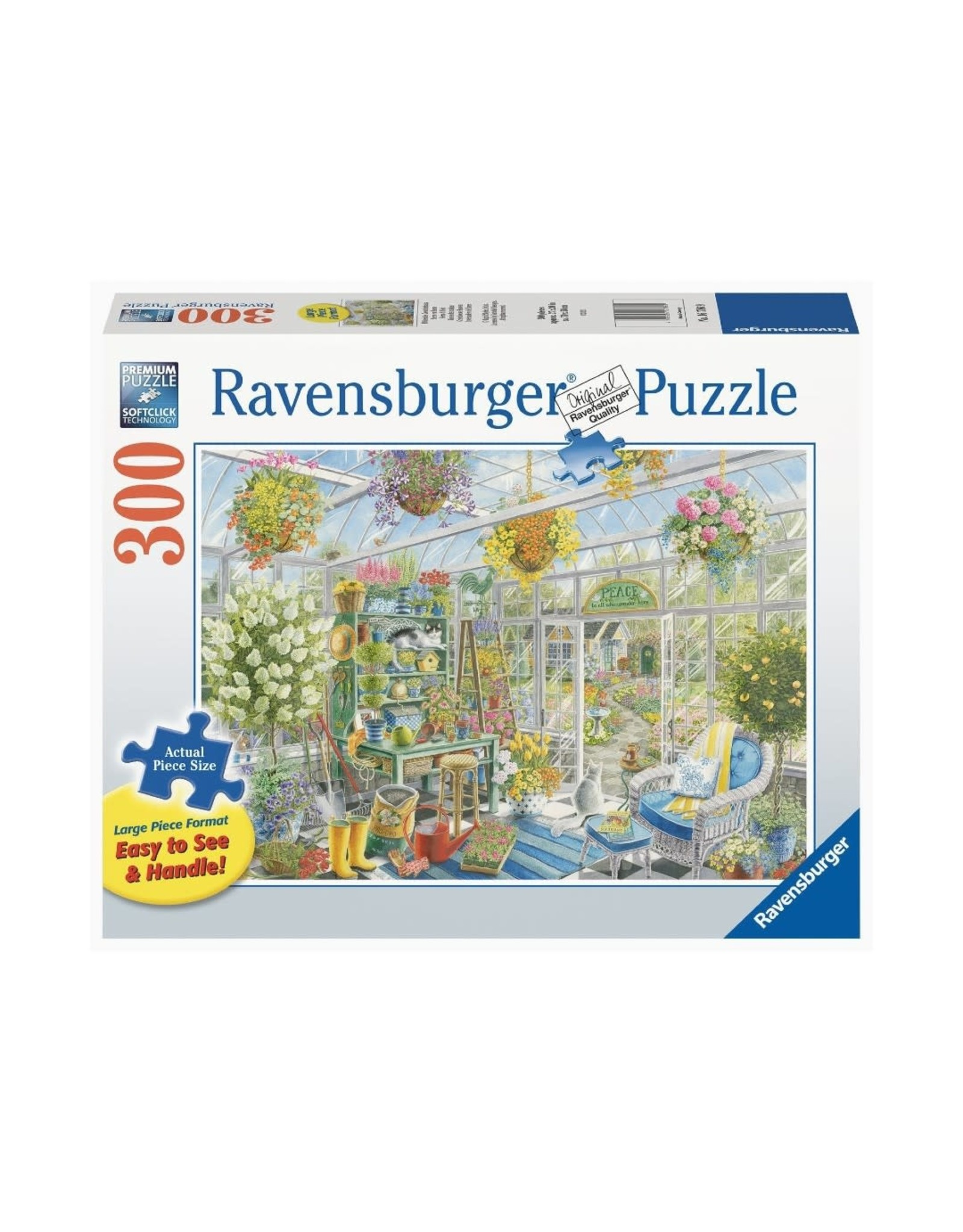 Ravensburger Greenhouse Heaven (300 pc Lrg Fmt)