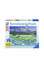 Ravensburger Mountain Quiltscape (300 pc Lrg Fmt)