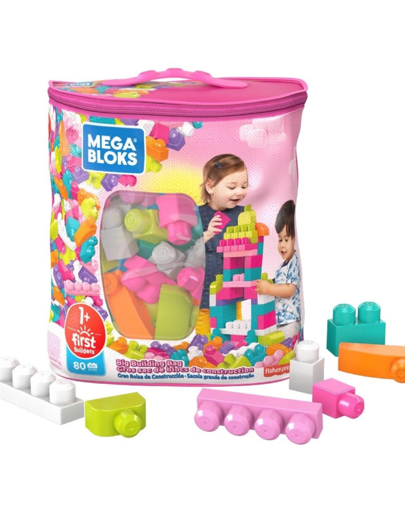 Mega Blok BIG BUILDING BAG (PINK)