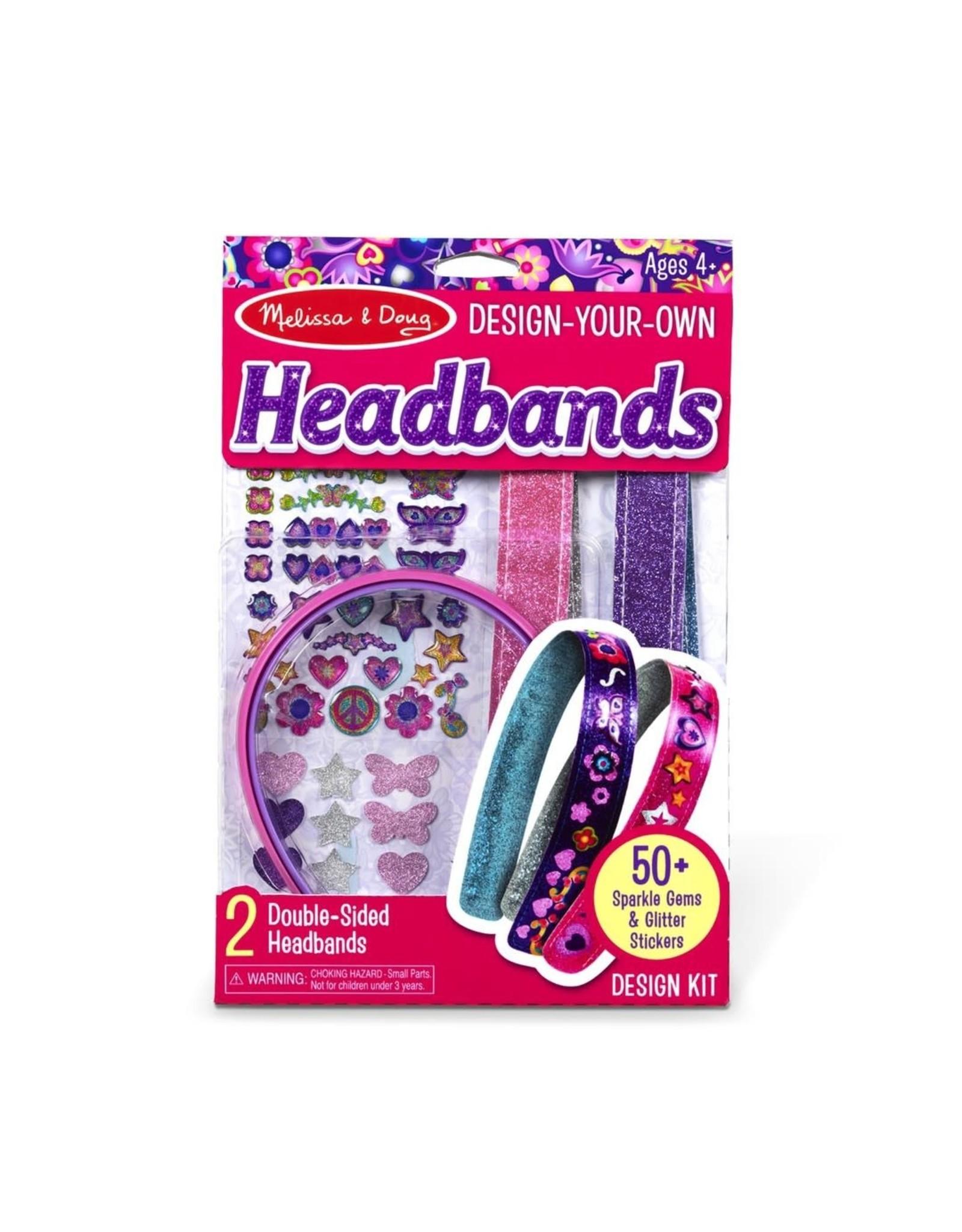 Melissa & Doug DYO Headbands