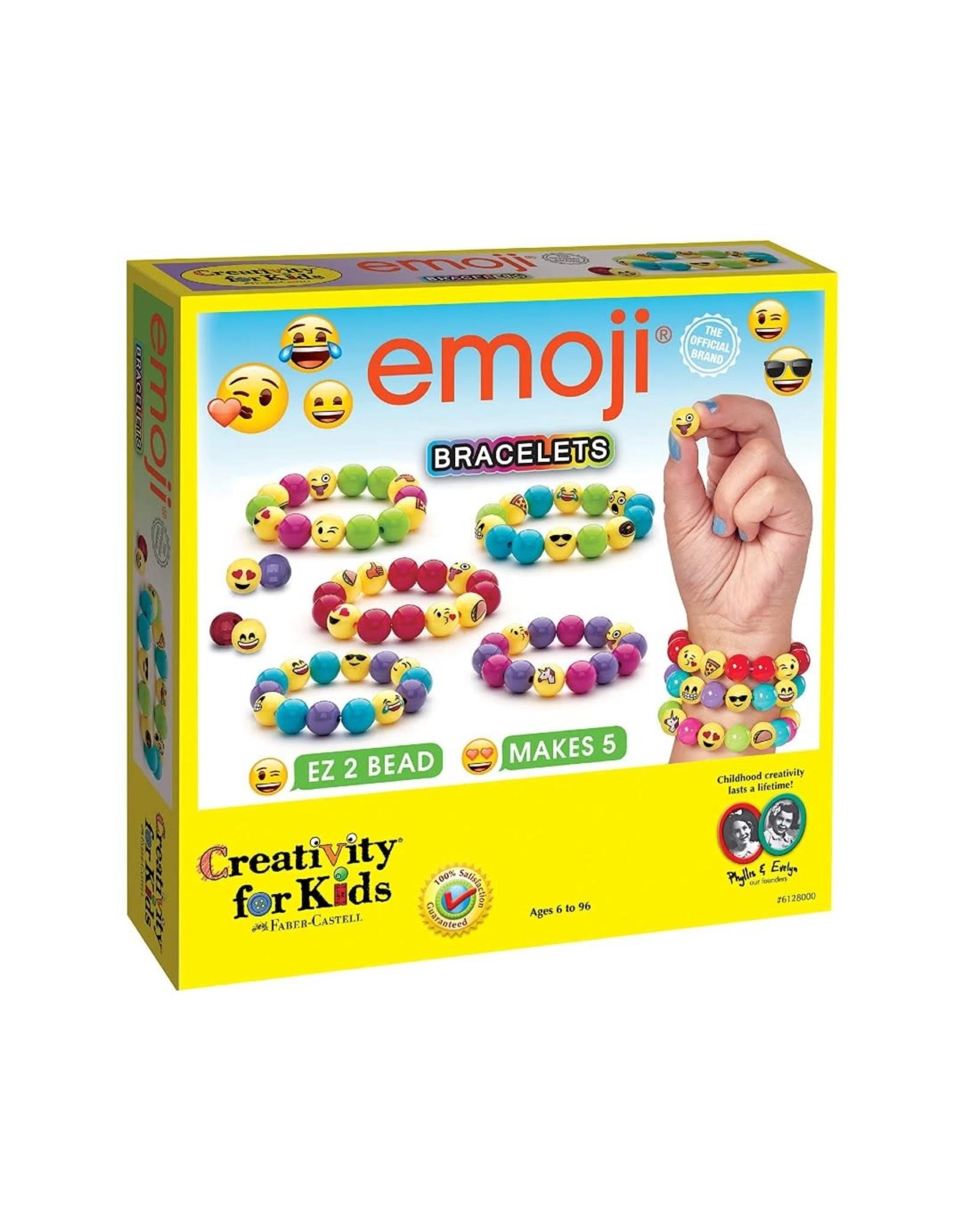 Creativity for Kids emoji' Bracelets
