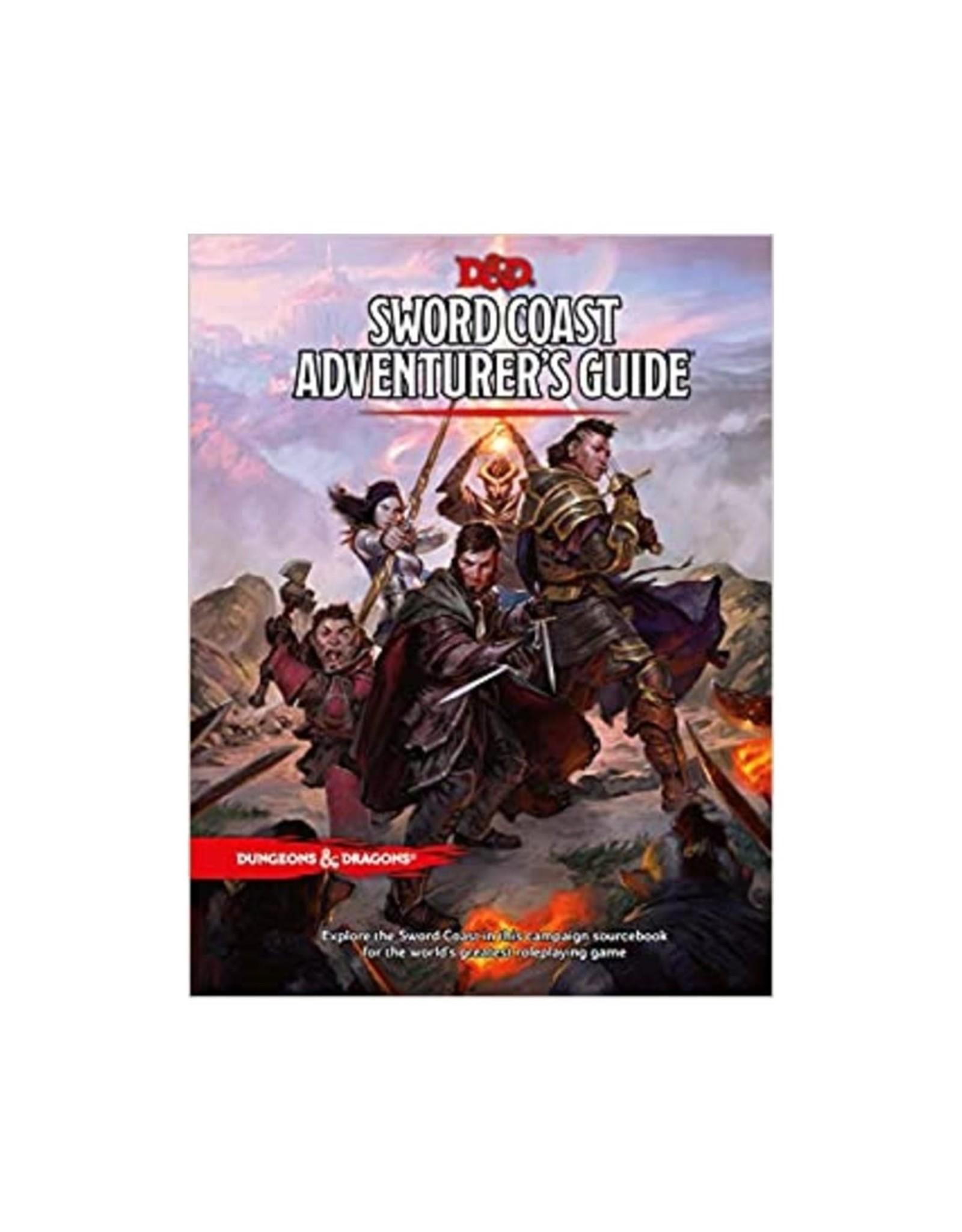 Dungeons & Dragons D&D Sword Coast Adventurers Guide