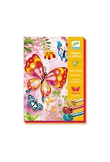 DJECO LGA Glitter Boards Butterflies