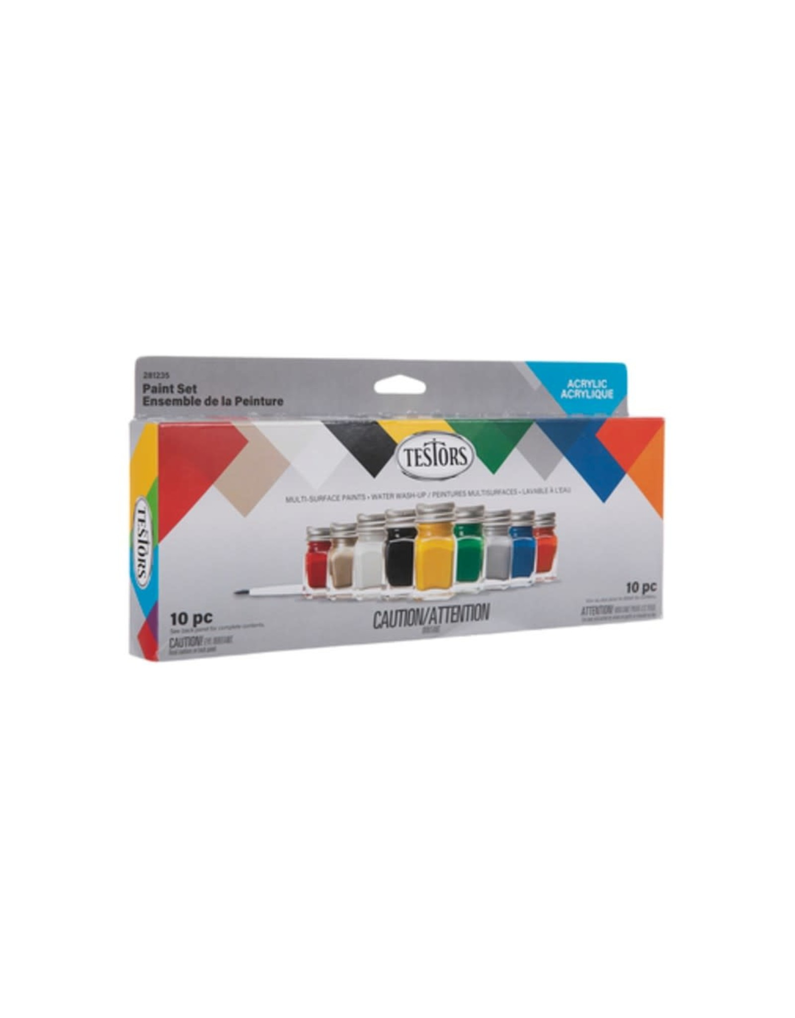 Acrylic Value Paint Set