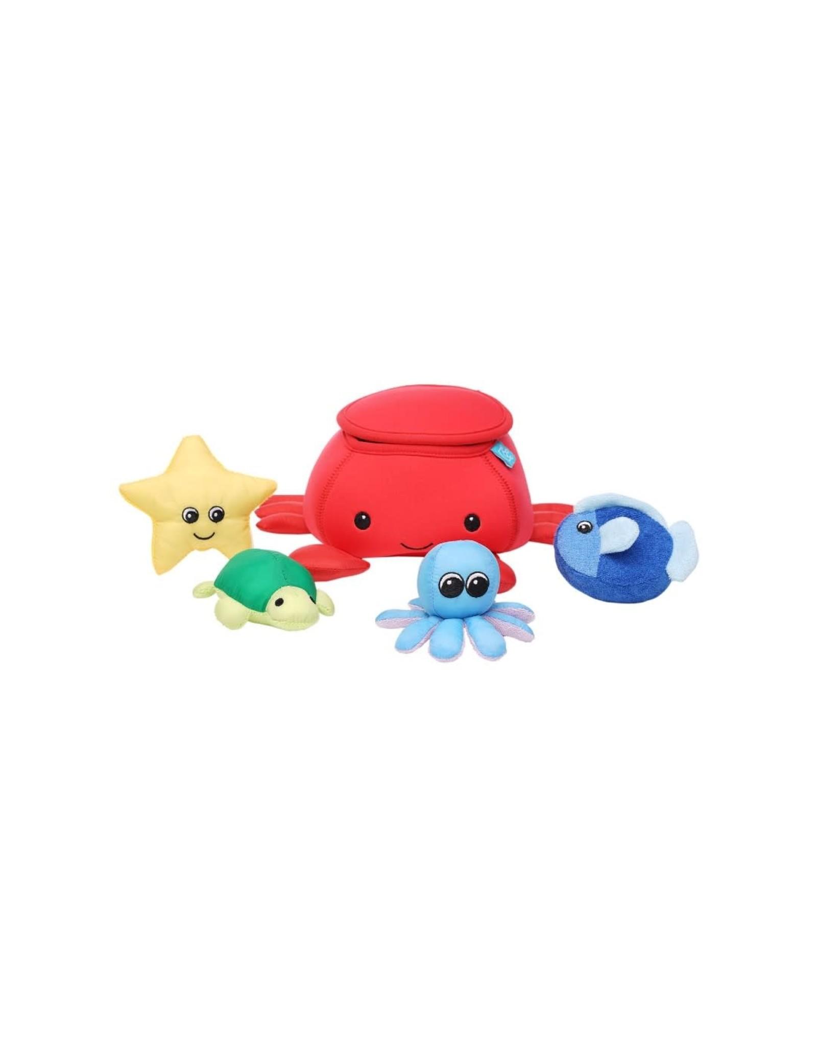 Manhattan Toy Crab Floating Bath Toy