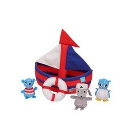 Manhattan Toy Floating Sailboat Bath Toy