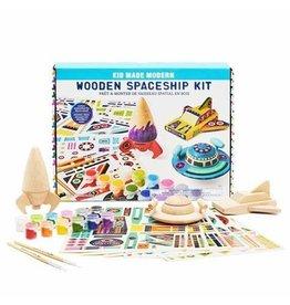 Kids Made Modern Wooden Spaceship Kit