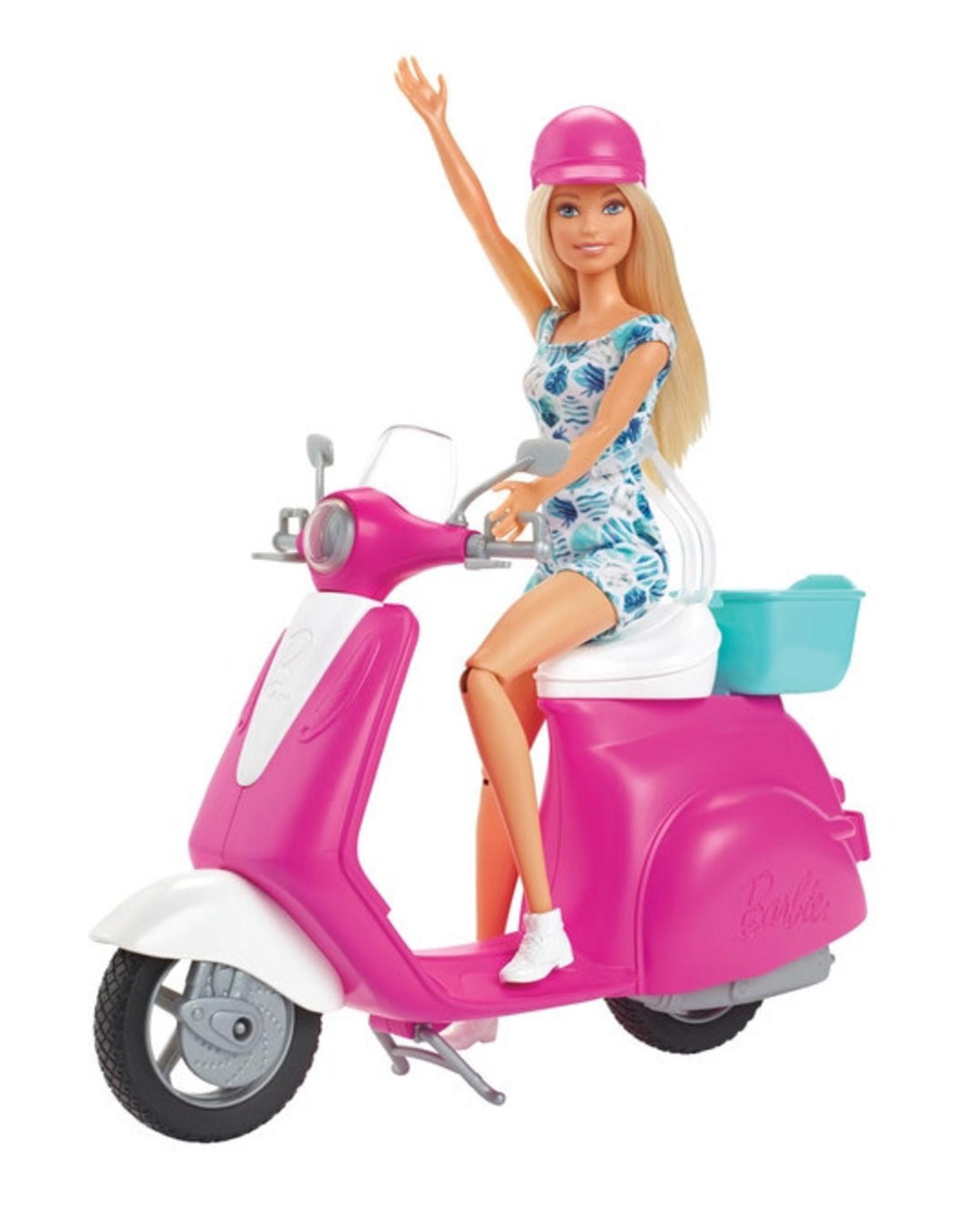 Barbie Barbie Doll & Scooter